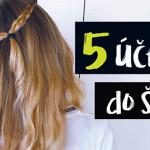5 rýchlych účesov (nielen) do školy